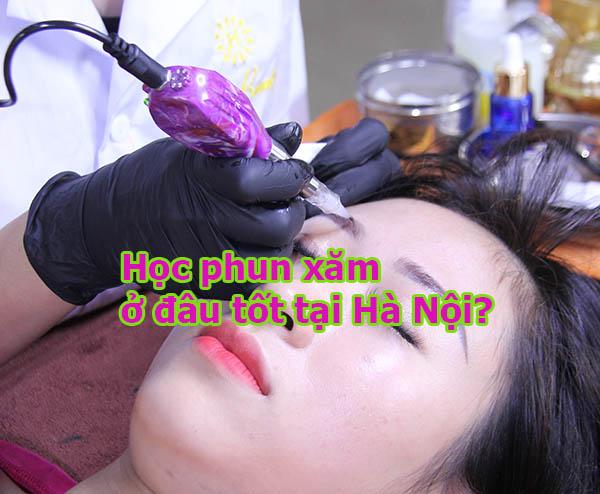 Học phun xăm ở đâu tốt tại Hà Nội?