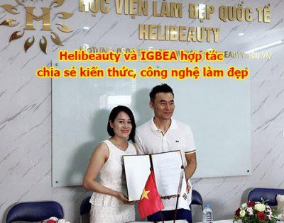 Helibeauty và IGBEA hợp tác chia sẻ kiến thức, công nghệ làm đẹp