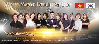 Cơ hội học nghề làm đẹp từ 12 Master đến từ Hàn Quốc